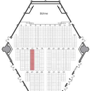 Große Funkensitzung: Reihe 2 - Tisch 17